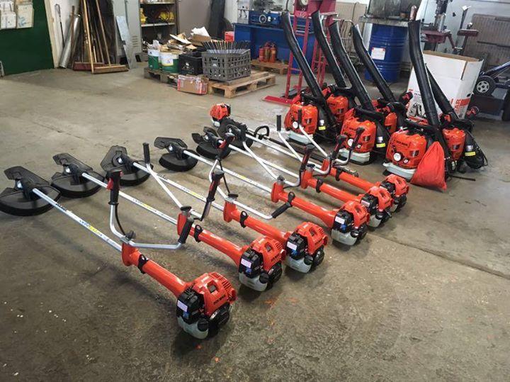 Dolmar machines voor Helicon Velp en