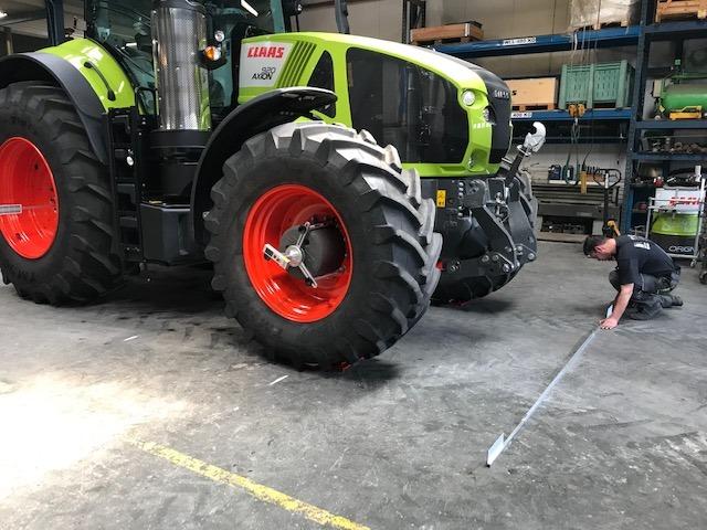 Uitlijnen van uw tractor verlaagt de