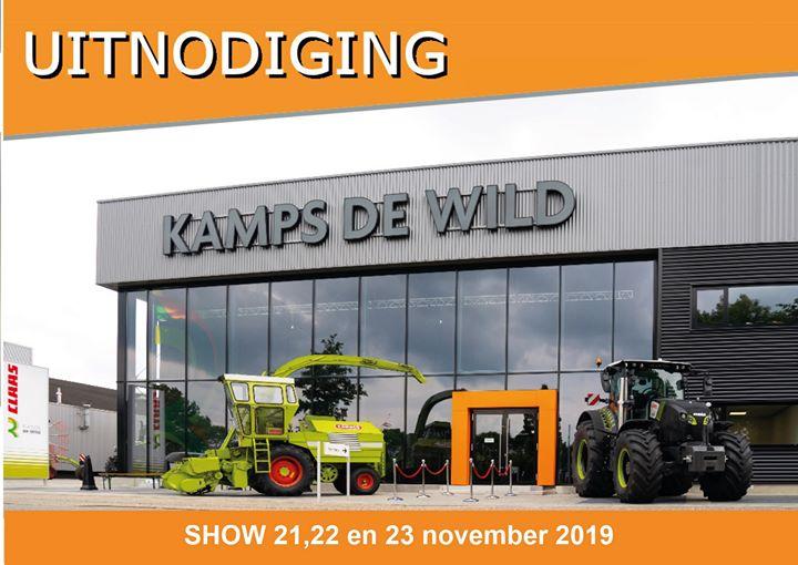 Jubileum show Kamps de Wild op 21,