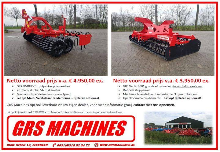 Nieuwe machines voor