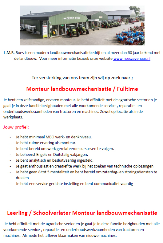 vacature-roes